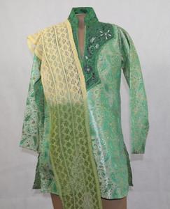 1009 Green Designer Kurta set
