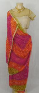 Gujurat Style Wrap (without pleat)