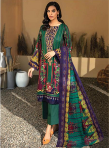 03 Teal Suit - Latest Pakistani Party Wear Readymade