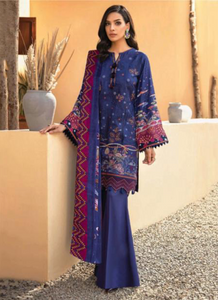 10 Violet Suit - Latest Pakistani Party Wear
