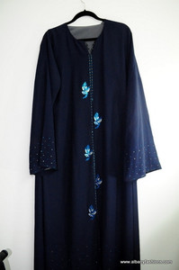 Dark Blue Abayas / Jilbabs / Hijabs / Indian Burka