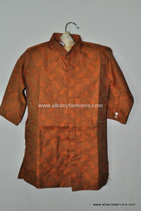 Mustard Boys Kurta Payjama Set For 1-2 Yrs
