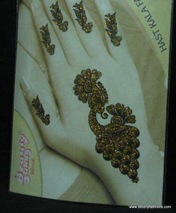 Indian Mehandi Tatoo Henna temporary removable Sticker Mehandi_Tattoo_10018