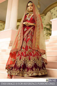 1007 Indian Wedding Lehenga