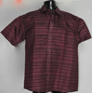 Half-sleeved Dark Maroon Kurta