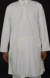 Plain White Kurta