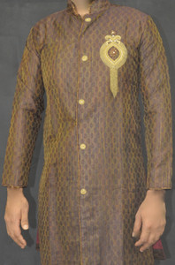 Designer Brown Kurta