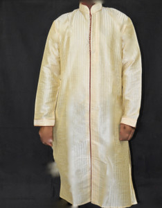 Simple Cream Kurta