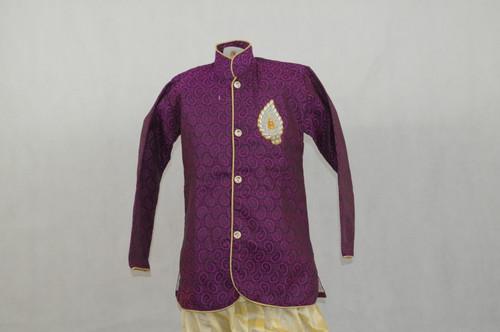 1007 Purple Designer Kurta