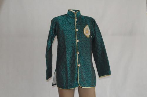 1005 Turquoise Kurta with beading
