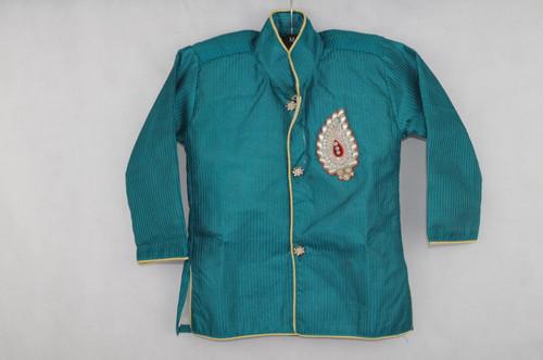 1001 Turquoise Kurta set