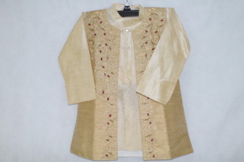 1017 Yellow-gold kurta set