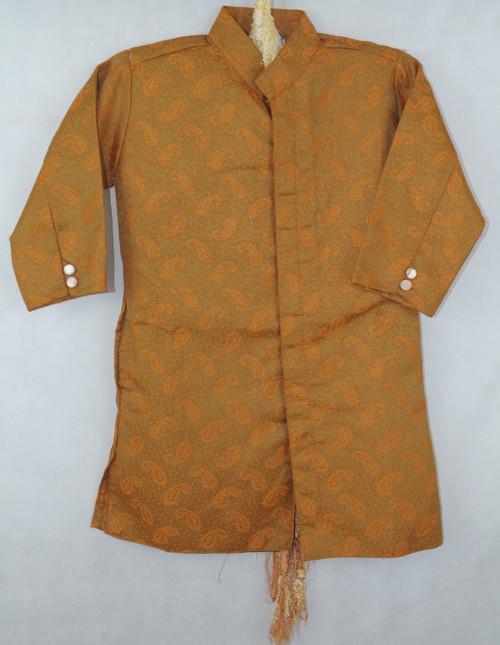 1014 Brown Designer Kurta set