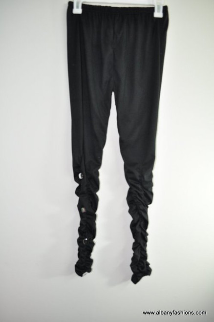 Indian Leggings - Black with Stone