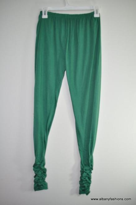 Indian Leggings - Green fancy bottom