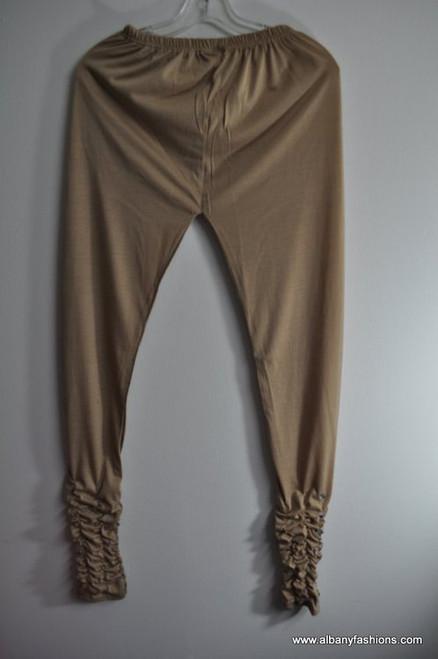 Indian Leggings - Cream fancy bottom