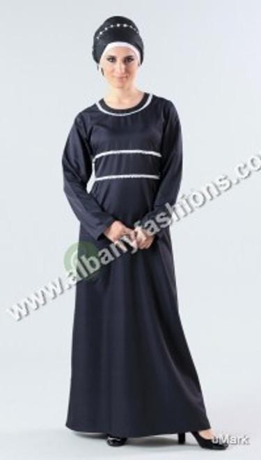 Black-AJ61-Abaya
