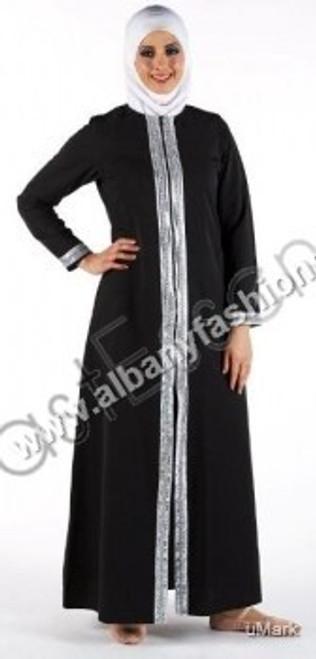 Black-AJ356-Abaya