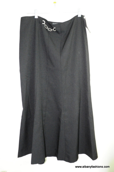 Black nycc long skirt size 14