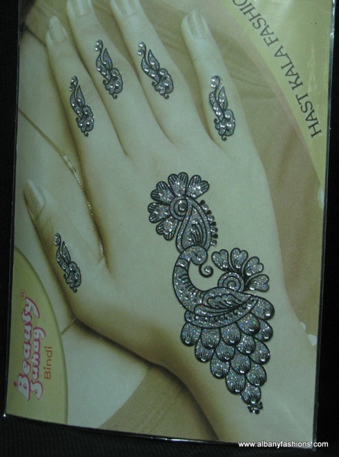 Indian Mehandi Tatoo Henna temporary removable Sticker Mehandi_Tattoo_10017