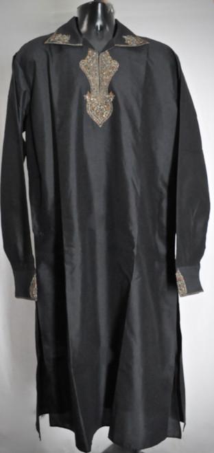 Black Designer Kurta