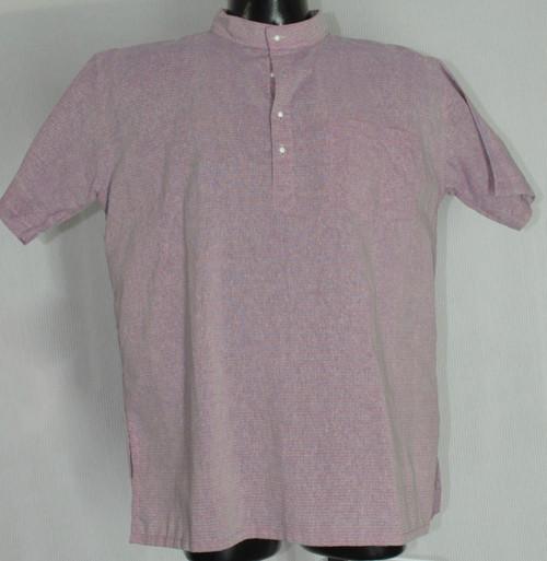 Half-sleeved Purple Kurta