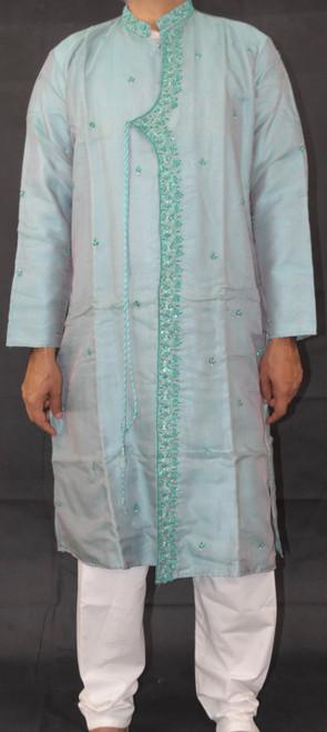 Turquoise Blue Kurta