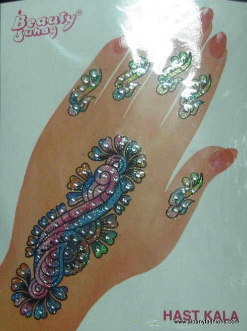 Indian Mehandi Tatoo Henna temporary removable Sticker Mehandi_Tattoo_10013