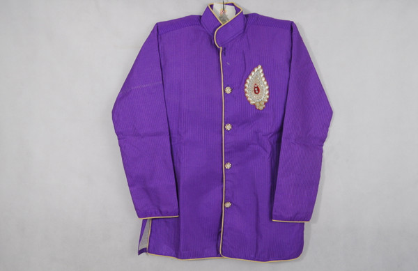 Purple Designer Kurta set