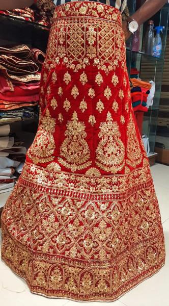 Wedding Gown 02 (un-stitched)