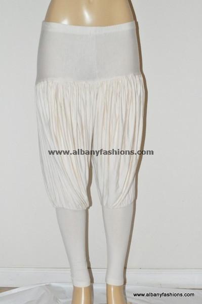 Cream patiyalla leggings