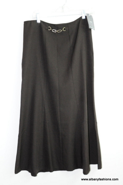 Brown nycc skirt size 10