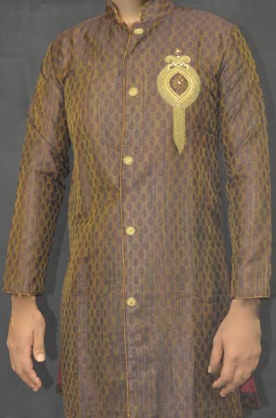 Designer Brown Kurta