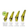 Titanium Angulated Abutment | Concave Profile | 25 Degrees