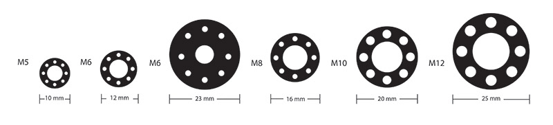 Drilled Washer