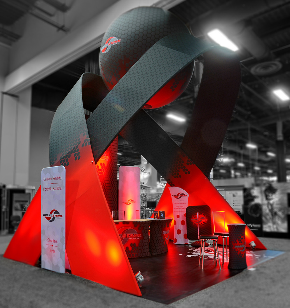 Exhibition Stand Lighting Xl : Exhibit design ideas & inspiration trade show displays