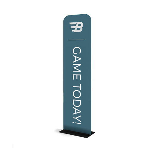 """WaveLine® Banner Stand Tension Fabric Display 24""""x116"""""""