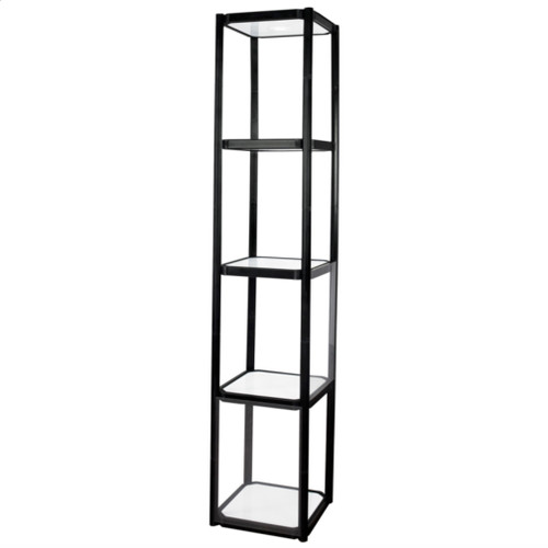 Twist Portable Display Cabinet 4 Shelves