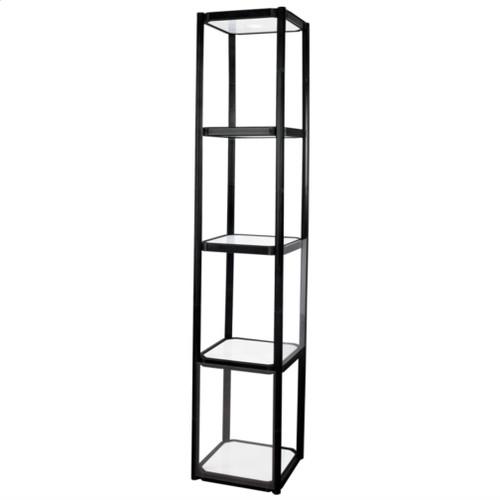 Twist Portable Display Cabinet 4 Shelves