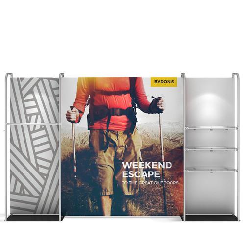 WaveLine® Merchandiser Retail Pop Up Store Display straight