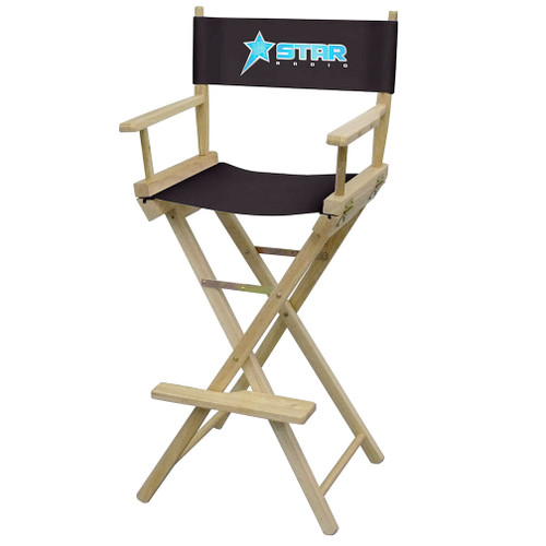 Bar-Height Director's Chair (Full-Color Imprint)