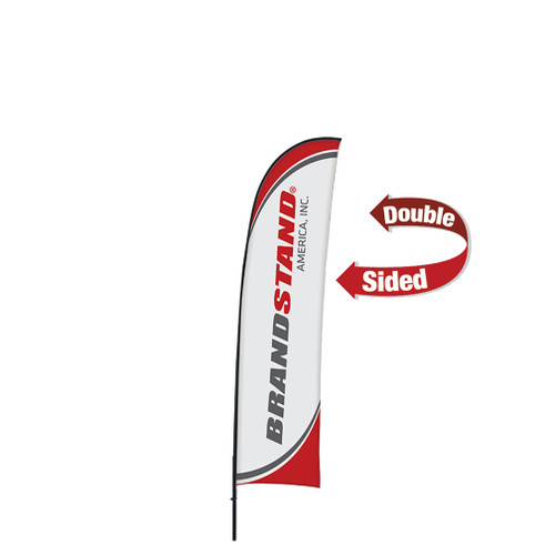 Blade Flag Small - 9ft Double-Sided Outdoor Flags