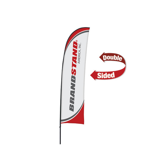 Blade Flag Small - 11ft Double-Sided Outdoor Flags