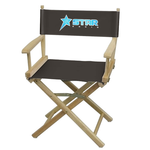 Table-Height Director's Chair (Full-Color Imprint) (111026)
