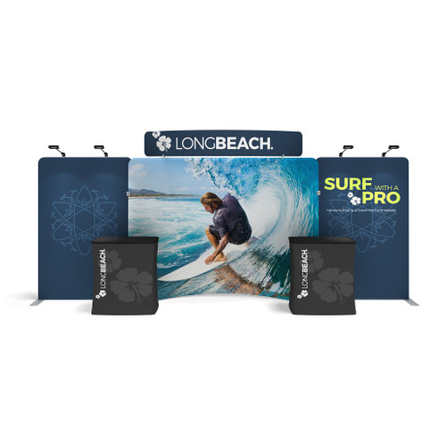 WavelineMedia Tension Fabric Display WLME10CE
