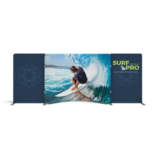 WaveLine Media® Display WLME10CE Tension Fabric Display