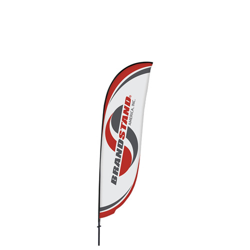 Crest Flag - 9ft Single-Sided Outdoor Flags