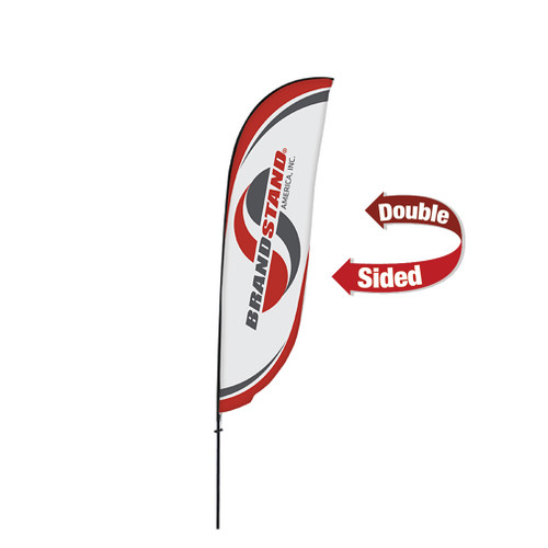 Crest Flag - 11ft Double-Sided Outdoor Flags