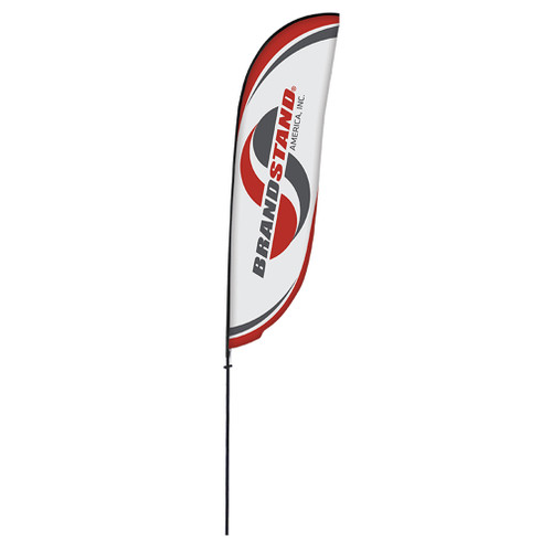 Crest Flag - 15ft Single-Sided Outdoor Flags