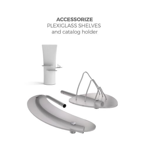 Plexiglass Shelves and Catalog Holder Kit